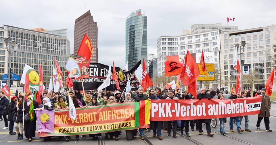 20150221 Demonstration PKK Verbot aufheben Berlin